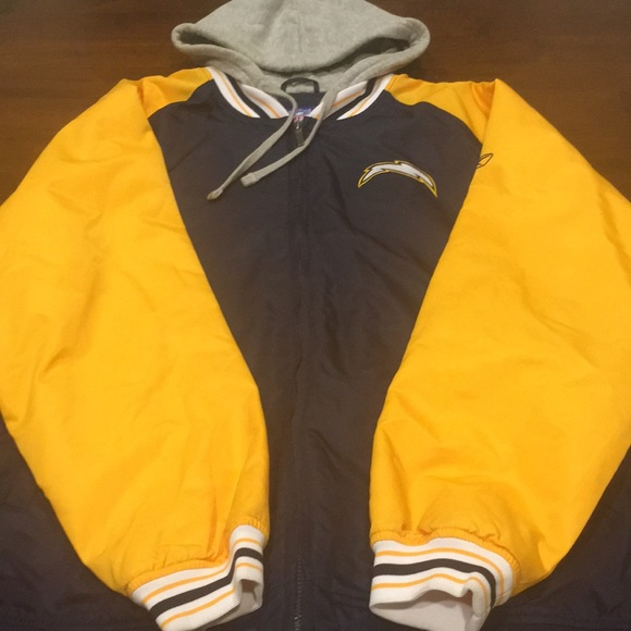 premium selection 96ad7 405ce Reebok NFL San Diego Chargers jacket